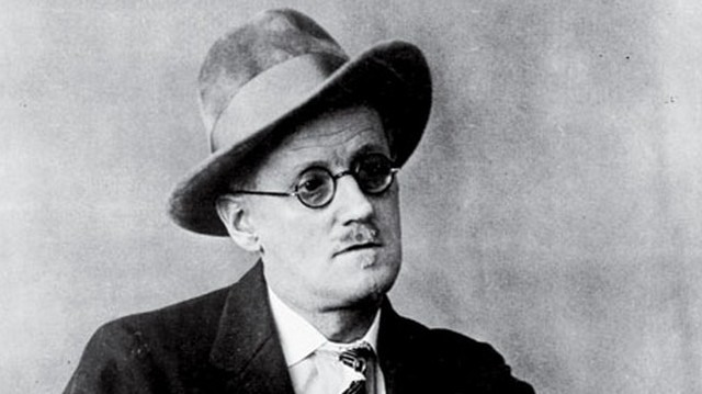 Who is he in this picture? For help here are some of his well-known works: Ulysess, Dubliners.