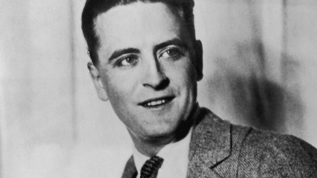 Who is he in this picture? For help here are some of his well-known works: The Great Gatsby, The Curious Case of Benjamin Button, The Tender is the Night.