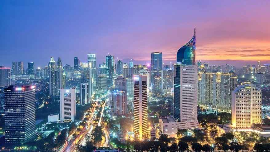 Which country is the capital city of Jakarta?
