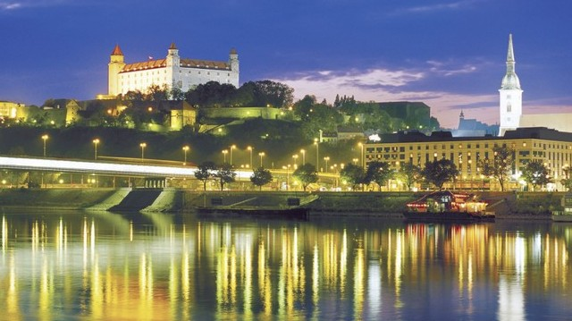 Where is Bratislava situated?