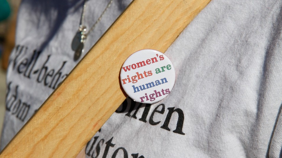 When did the women gain the right to vote for the first time?