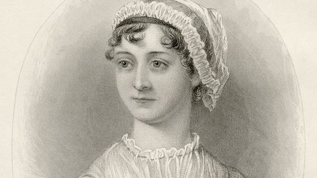 Who is she in this picture? For help here are some of her well-known works:Pride and Prejudice, Sense and Sensibility, Emma.