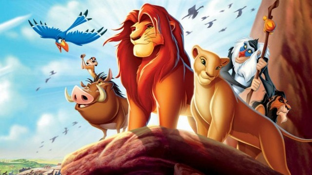 What is the name of the lion in The Lion King?